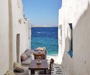 Greece, paradise, and sea image