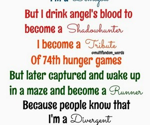 hunger games, the mortal instruments, and percy jackson image