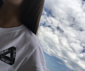 aesthetic, clothes, and clouds image