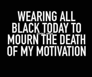 black, motivation, and quotes image