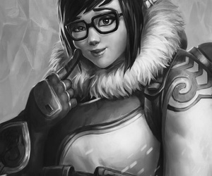 mei and overwatch image