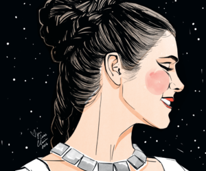 Princess Leia, star wars, and leia organa image
