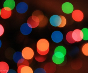 bokeh, light, and night image