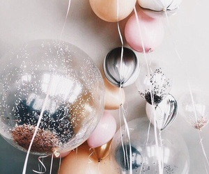 balloons, house, and inspo image