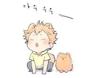 haikyuu, anime, and cute image