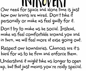 health, introvert, and mental health image