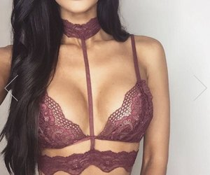 lingerie, style, and beauty image