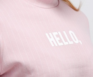 pink, pastel, and hello image