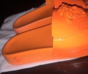 orange and shoes image