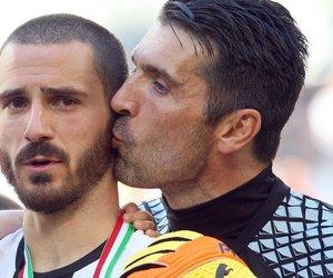 Juventus, buffon, and bonucci image