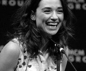 crystal reed and cute image
