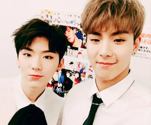 handsome, hot guy, and monsta x image