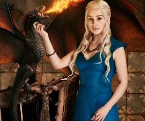 game of thrones, daenerys targaryen, and emilia clarke image