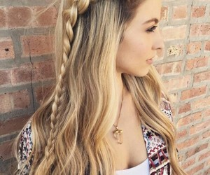 art, fashion, and hairstyle image