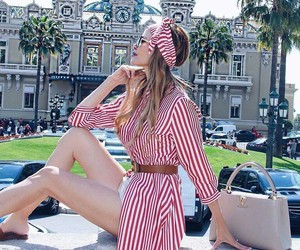 fashion, fashionista, and red and white image