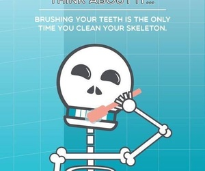 Dental, skeleton, and dentist image