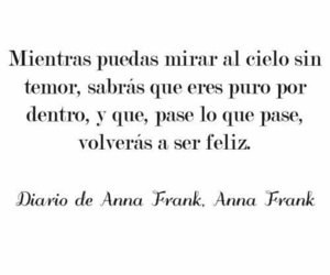 books, feelings, and ana frank image