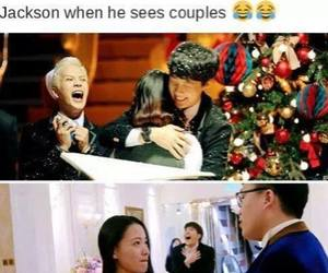 got7, couple, and funny image