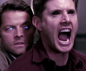 castiel, supernatural, and dean image