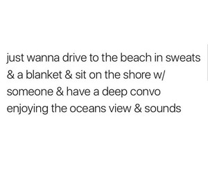 beach, drive, and view image