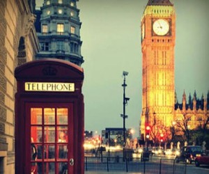 london, england, and telephone image