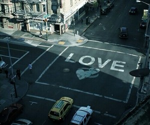 love, city, and street image