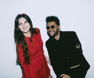 the weeknd, lana del rey, and lust for life image