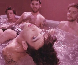 pink, the 1975, and matty healy image