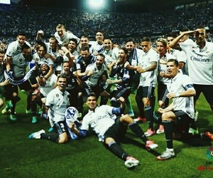 champions and real madrid image