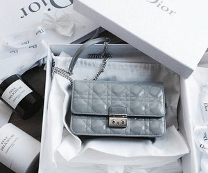 dior, accessories, and blue image