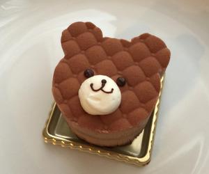 cake, food, and bear image