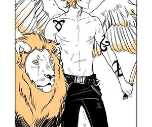 jace herondale, the mortal instruments, and shadowhunters image