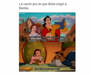 books, frases, and beauty and the beast image
