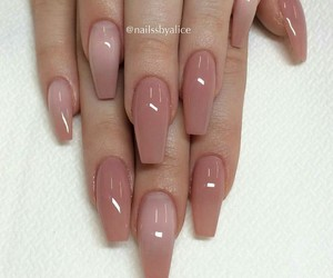 color, nails, and Nude image