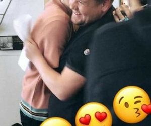 james corden, Harry Styles, and one direction image