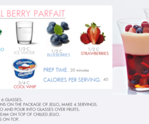 berry, healthy, and parfait image