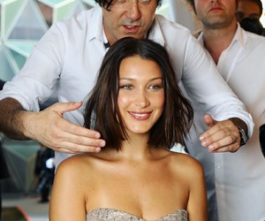 cannes, festival, and hairstyle image