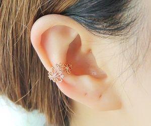 earring, kawaii, and korean style image