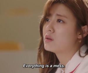 asian, nam ji-hyun, and suspicious partner image