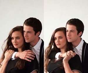 couple, photoshoot, and thirteen reasons why image