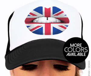 etsy, red white blue, and trucker hat image