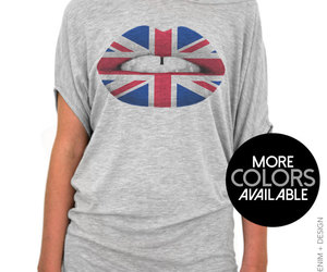 british flag, Great Britain, and womens clothing image
