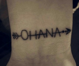 tattoo and ohana image