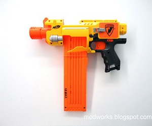 awesome, gun, and nerf mod image
