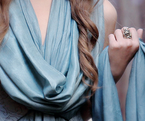 dress, ring, and game of thrones image