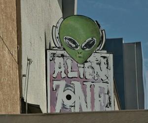 alien, grunge, and vintage image