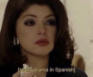 meme, spanish, and drama image
