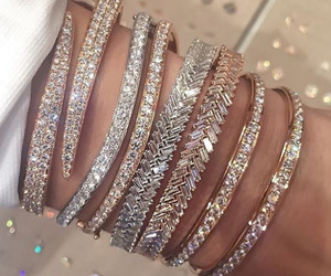 bracelet, jewelry, and luxury image