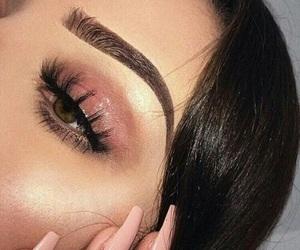 brow, eye, and hair image