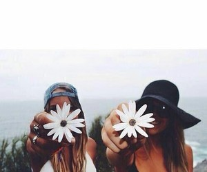 best friends, Fashion girls, and photography image